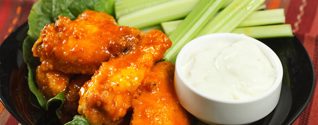 We've got the best wings in town!